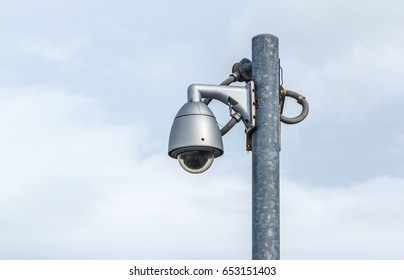 CCTV surveillance security in public areas, Technology