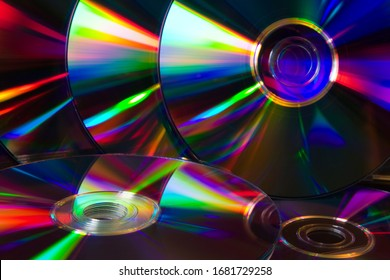 CD Composition (CD/DVD). CD Rainbow Reflections. Music, data, technology