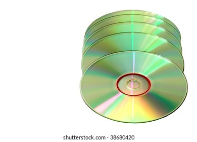 CD disks  with copy-space for your text