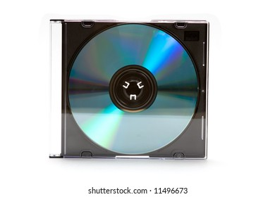 Cd dvd case with disc
