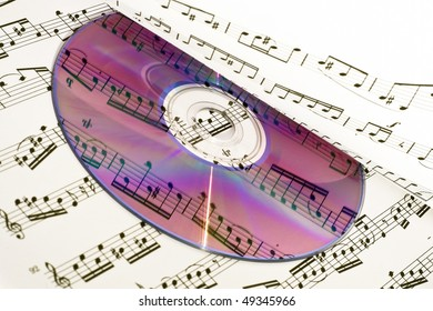 CD, it reflected in the musical score.