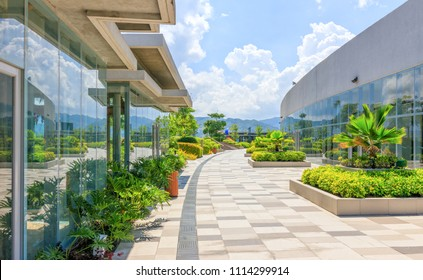 Cebu City, Philippines - June 13, 2018: The Skypark At SM Seaside City Cebu