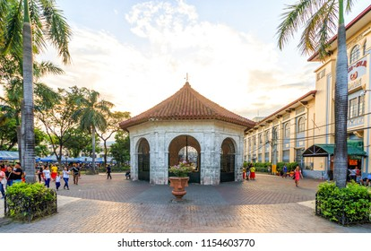 Cebu City, Philippines - June 15, 2018: Plaza Sugbo In Cebu City