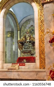 Cebu city, Philippines-October 18, 2016: the Holy Child of Cebu-Santo Niño de Cebu is a Roman Catholic title and religious image of the Child Jesus widely venerated as miraculous by Filipino Catholics