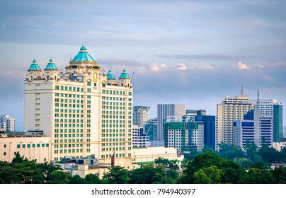 Cebu City/Philippines - August 10 2016: Waterfront Hotel Cebu City