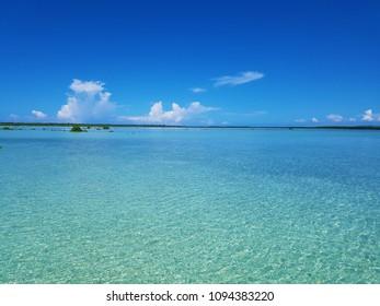 Cebu ocean and sky