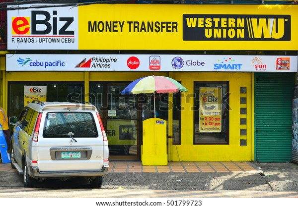 Cebu Phoct 11 Western Union Cebu Stock Photo (Edit Now