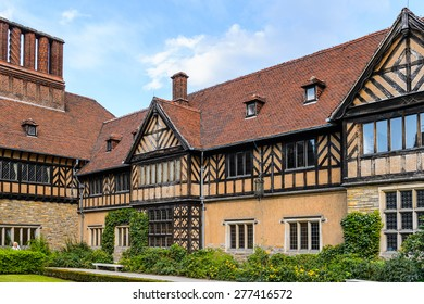 Cecilienhof Palace a palace in Potsdam, Brandenburg, Germany.  Palaces and Parks of Potsdam and Berlin UNESCO World Heritage Site