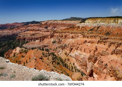 Cedar Breaks National Monument on a clear summer's day in Utah