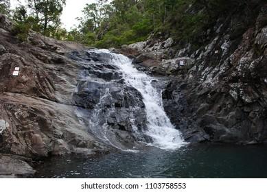 Cedar Creek falls at Mt. Tamborine.