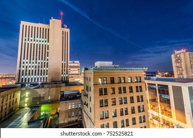 Cedar Rapids Downtown Skyline