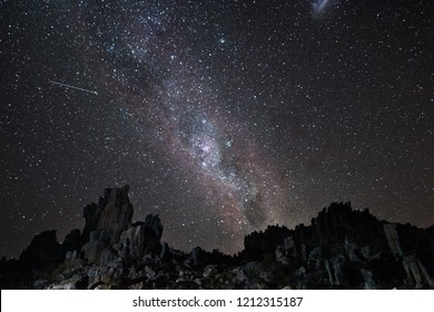 Cederberg, Western Cape, South Africa. I captured the milky way next to the astronomical observatory in the Cederberg mountains.