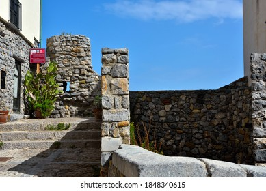 CEFALU ITALY SEPTEMBER 19  The ancient fortifications, called megalithic walls and datable not before the fifth century. Sep 19 2020 Cefalù Italy