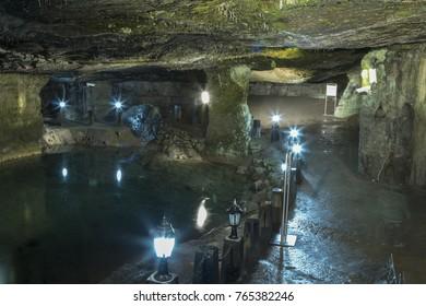 Cehennemagzi Cave, Eregli, Zonguldak, istanbul November 5, 2017, Zonguldak, Turkey
