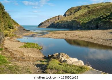 Ceibwr bay in Pembrokeshire,
