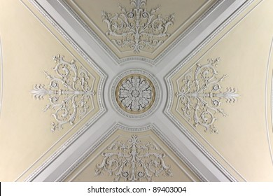 Ceiling of the Augustus Room in winter palace, Saint Petersburg