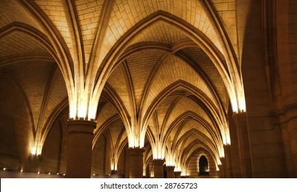 Ceiling of the Conciergerie, Paris