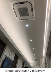 Ceiling of a dental office, 29-07-2019, Aichi-ken Asai-shi Japan.