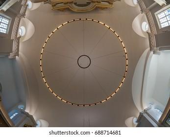 Ceiling in Gothenburg Church