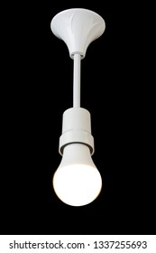 ceiling lamp on isolated background