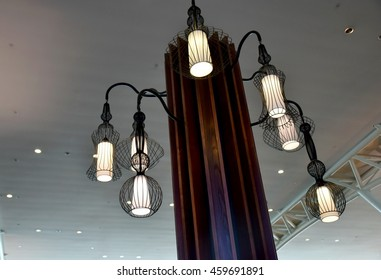 Ceiling lamp transparency decorated modern style