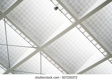 Ceiling of Modern Office Building