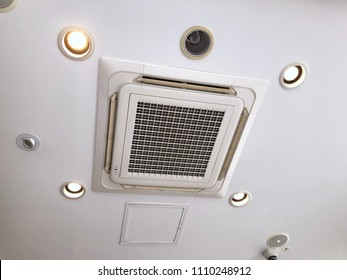 Ceiling mounted air conditioner