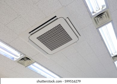 Ceiling mounted air conditioning system