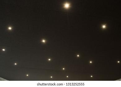 Ceiling Spot Lights Images, Stock Photos & Vectors