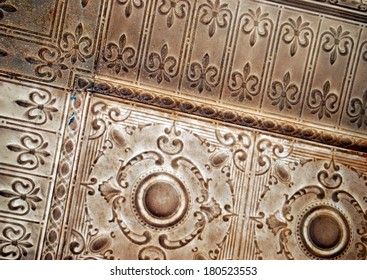 Tin Ceiling Tiles Images Stock Photos Vectors Shutterstock