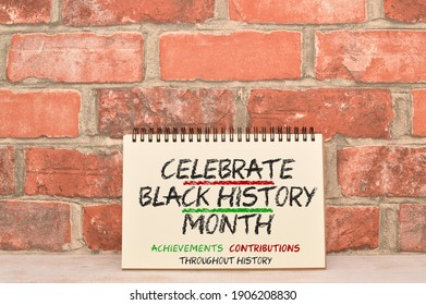 Celebrate Black History Month Achievements sign