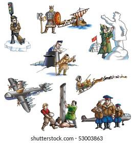 The celebrated explorer in Arctic_2