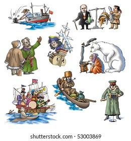 The celebrated explorer in Arctic_4