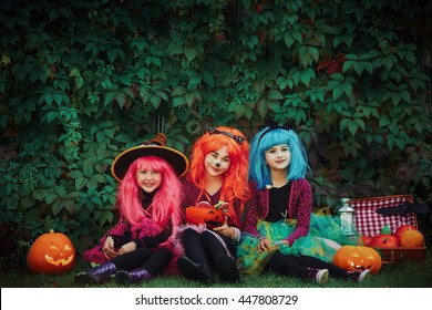 Celebrating halloween