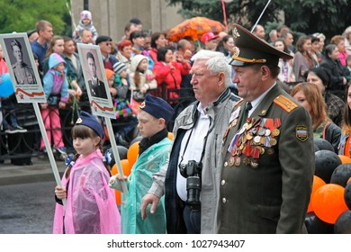 Celebration Of The 70Th Anniversary Of The Victory Day, Pyatigorsk Russia - May 09, 2015