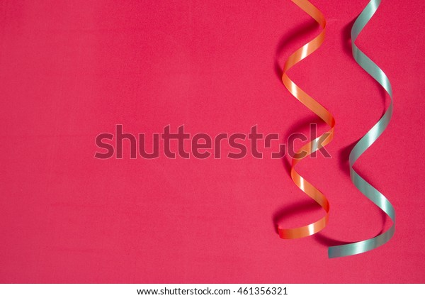celebration background with ribbon