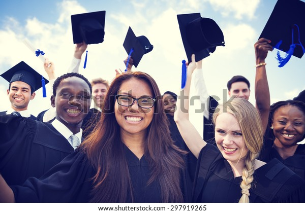 Celebrazione Educazione Graduazione Studente Successo Apprendimento