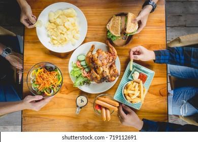 Celebration Family Dinner Concept