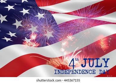 celebration fireworks . 4th of July. Independence Day