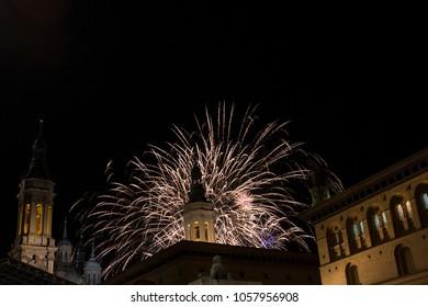 Celebration of Pilar in Zaragoza