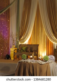Celebration room for a Sudanese Wedding taking place in Ontario, Canada