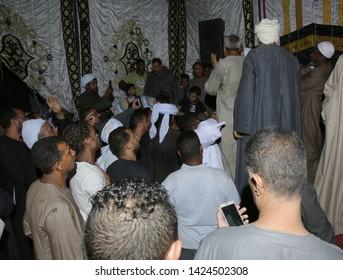 A celebration of the Sufi Muslims - location aswan - egypt   23/6/2018