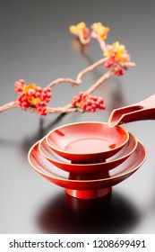 Celebration traditional crafts used in Japan