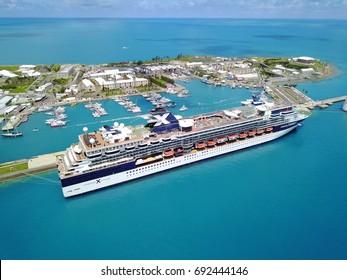 Celebrity Summit at Royal Naval Dockyard in Bermuda on August 4 2017