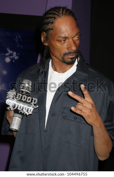 Celebrity Wax Model Snoop Dogg Grand Stock Photo (Edit Now