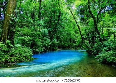 Celeste river Tenorio national park Costa Rica