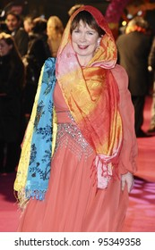 Celia Imrie Arriving For The Premiere Of The Best Exotic Marigold Hotel At The