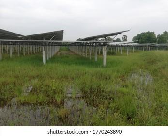 Solar cell  at Krasae Sin, Songkhla, Thailand