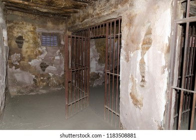 cell on an old prison or jail