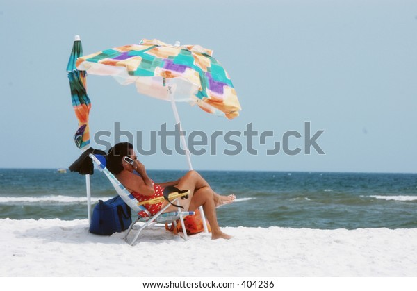 Cell Phone Beach